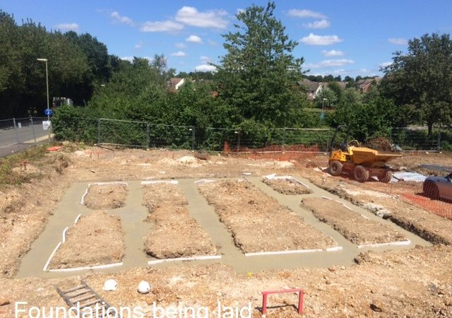 02 Foundations being laid