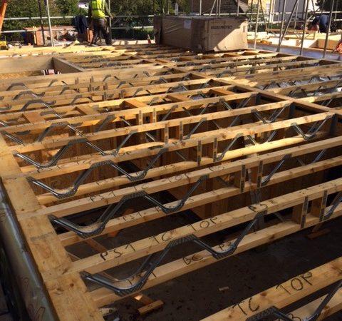 05 First Floor Timber Frame Joists